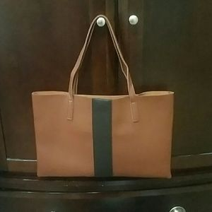 "Vince Camuto Vegan Leather purse bag ""Red Desert"""